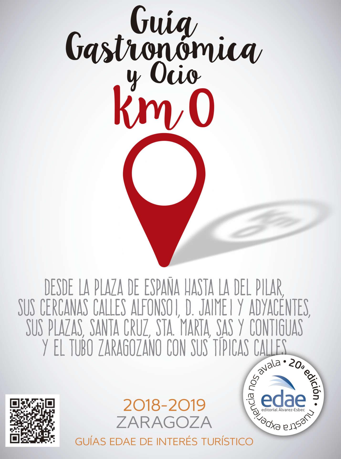 guía gastronómica de Zaragoza km 0