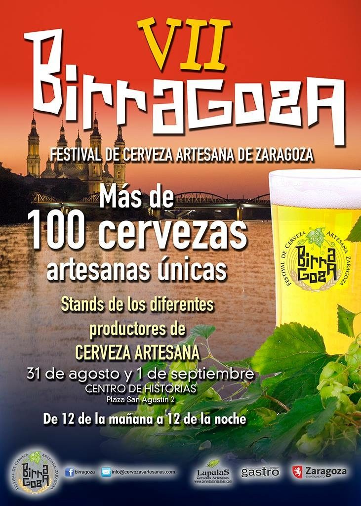 Birragoza, festival de cerveza artesana