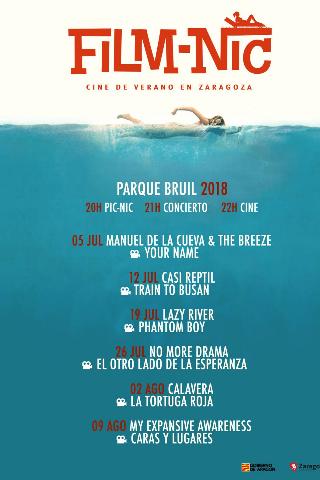 Film-Nic, cine de verano en Zaragoza