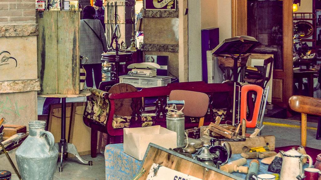 Mercadillo de Antigüedades de San Bruno