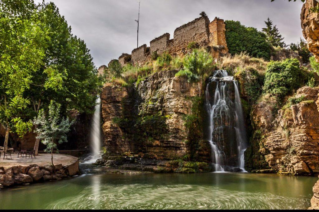 Parque natural de muel, cascadas, romanos y Goya