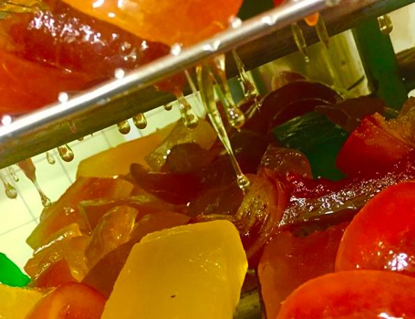 Frutas de Aragón, fruta hecha bombón
