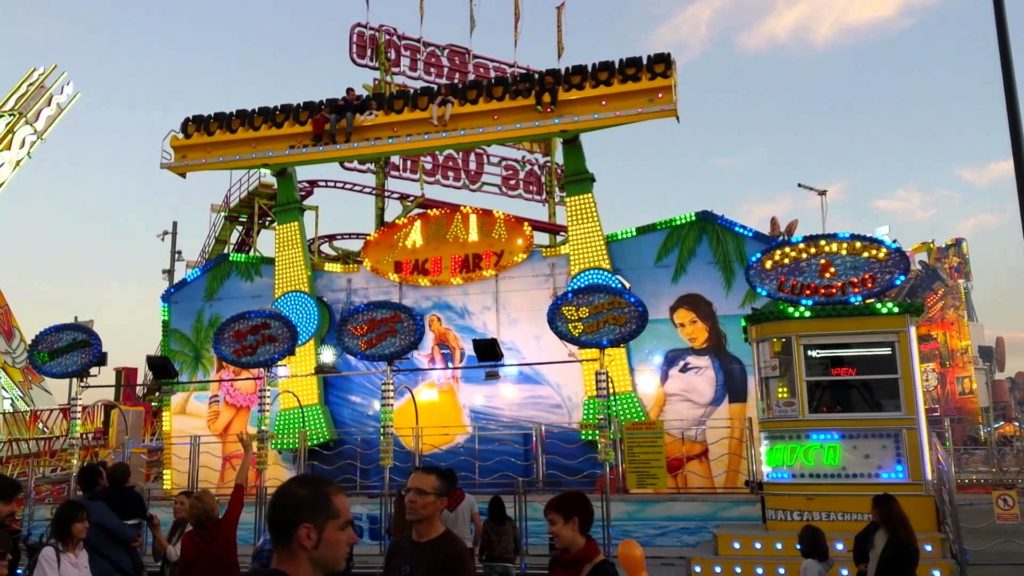 Circo, fiesta de la cerveza y atracciones - Las atracciones que gustan tanto a grandes como a pequeños son un fijo en las Fiestas del Pilar de Zaragoza