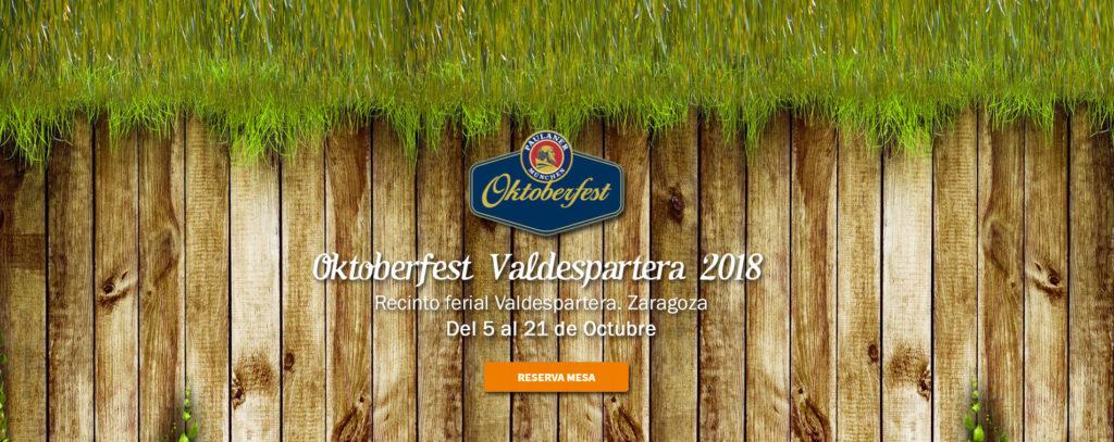 Circo, fiesta de la cerveza y atracciones - Resrva ya tu mesa para la Oktoberfest Valdespartera para disfrutar del auténtico ambiente alemán, cerveza, comida y música