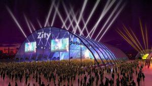 Espacio Zity Gran carpa central del Espacio Zity Valdespartera 2018