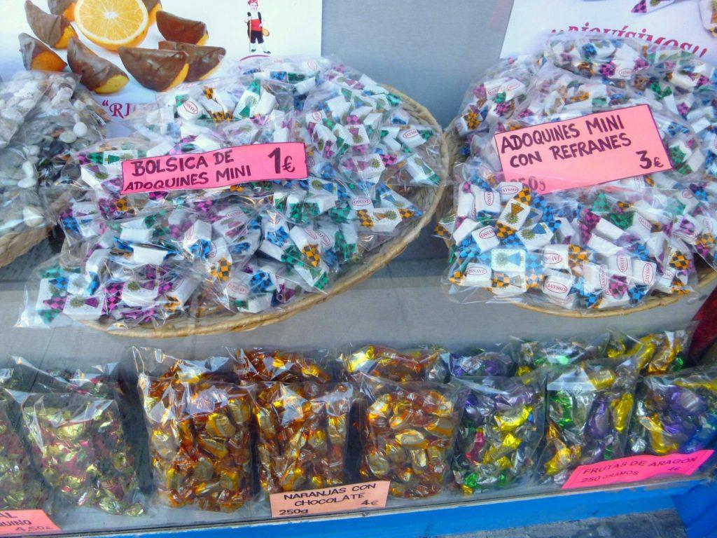 Adoquines, un caramelo para valientes