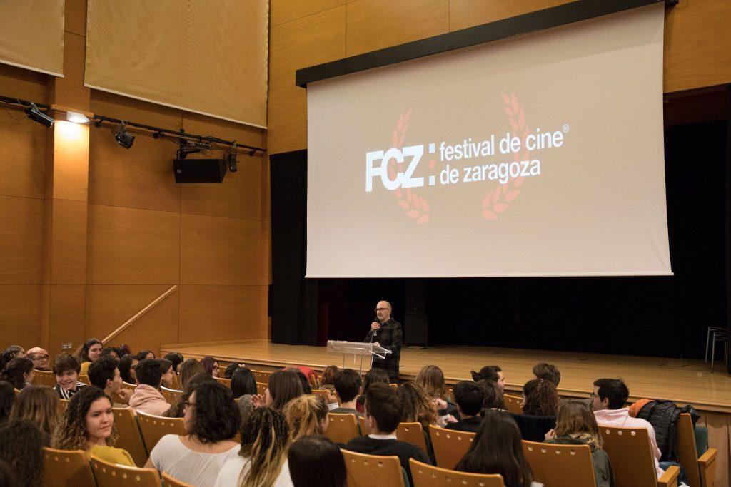 Festival Internacional de Cine de Zaragoza - FCZ en una de las actividades de ediciones anteriores