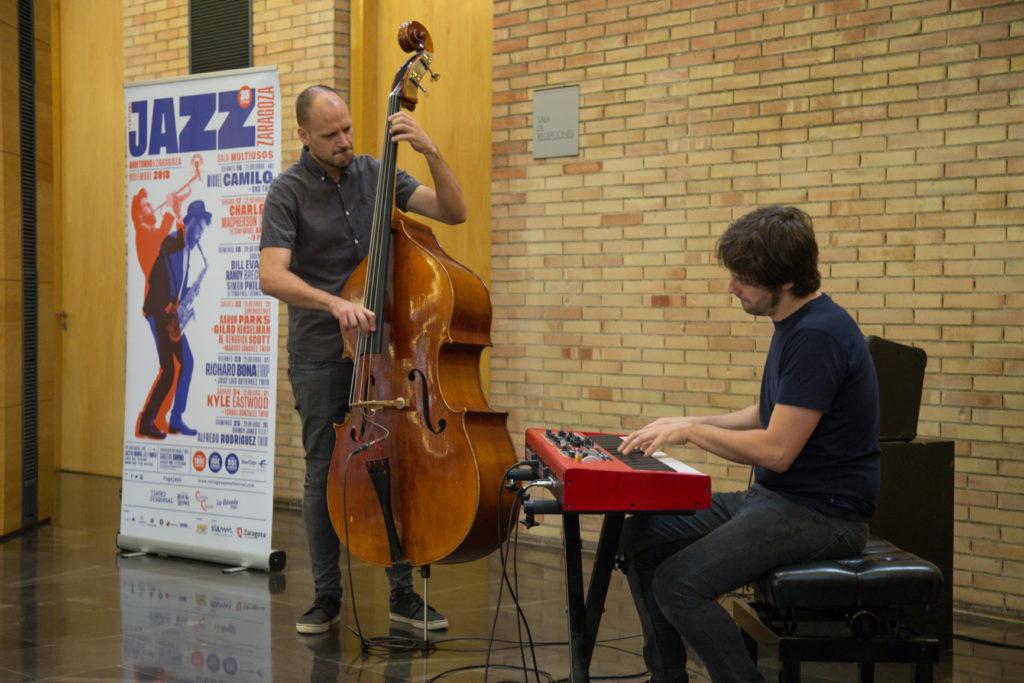 Festival de Jazz de Zaragoza - Músicos tocando jazz en en ediciones anteriores