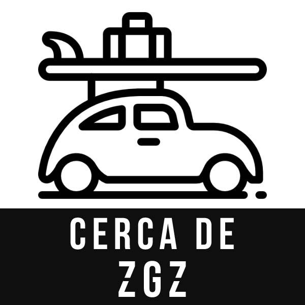 Cerca de Zaragoza