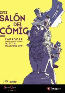 XVII Edición del Salón del Cómic de Zaragoza - 14, 15 y 16 de diciembre 2018