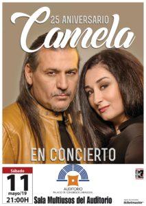 Camela celebra su 25 aniversario en Zaragoza - En la Sala Multiusos el 11 de mayo de 2019 Camela en Zaragoza