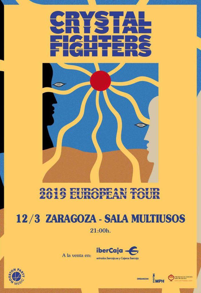 Crystal Figthers en Zaragoza - La banda londinense vuelve a dejarse caer por Aragón en la Sala Multiusos del Auditorio de Zaragoza este 12 de marzo de 2019