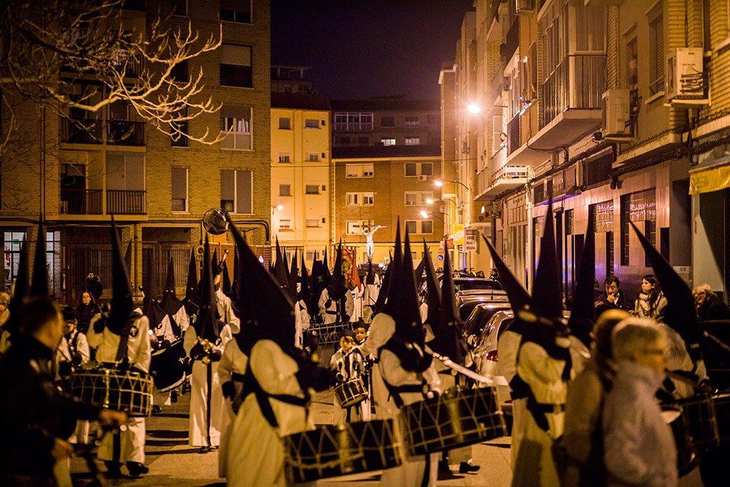 Foto Cofradía de la Exaltación de la Santa Cruz - Procesión de la Semana Santa en Zaragoza