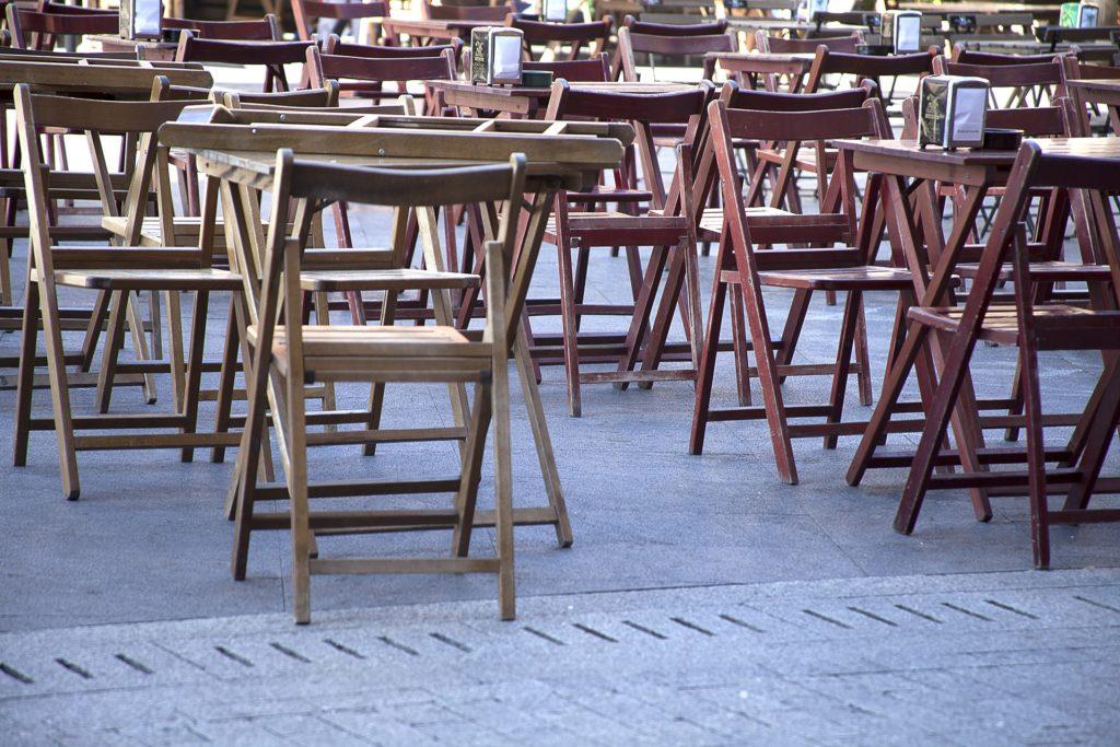5 plazas con terrazas en el centro de Zaragoza