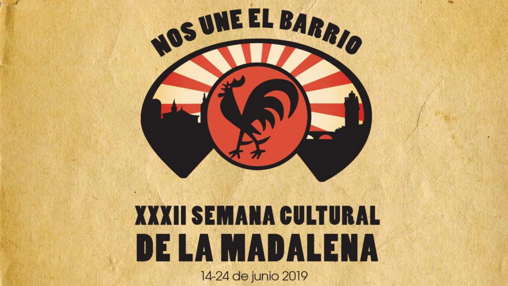 XXXII Semana Cultural de la Madalena del 14 al 24 de Junio de 2019 que coincide con las hogueras de San Juan en Zaragoza