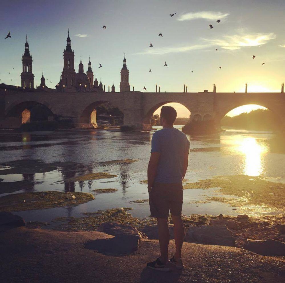 Foto de Borja en Hunteet - Reto Pasión por Zaragoza