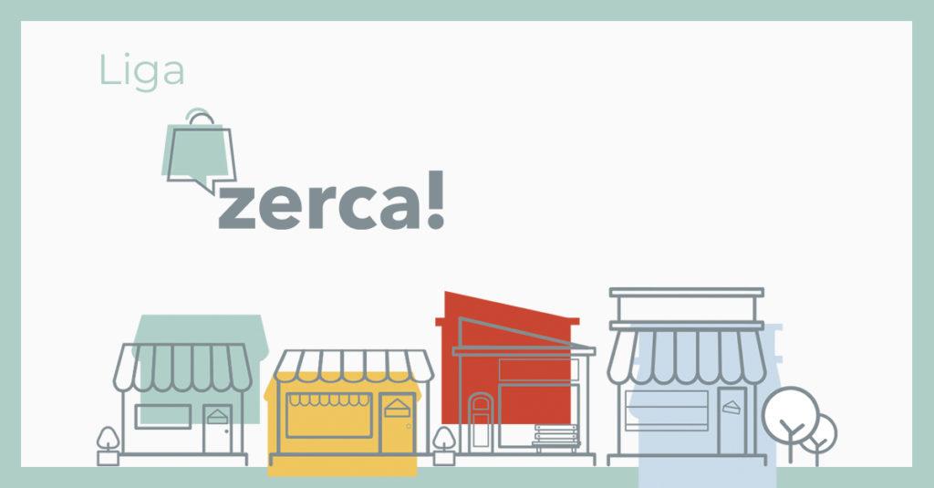 Liga de retos zerca! en Hunteet - Gana premios subiendo fotos gracias a la plataforma online zerca! de comercios de proximidad