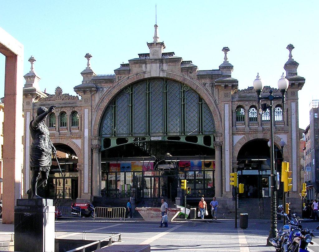 Fachada del Mercado Central.