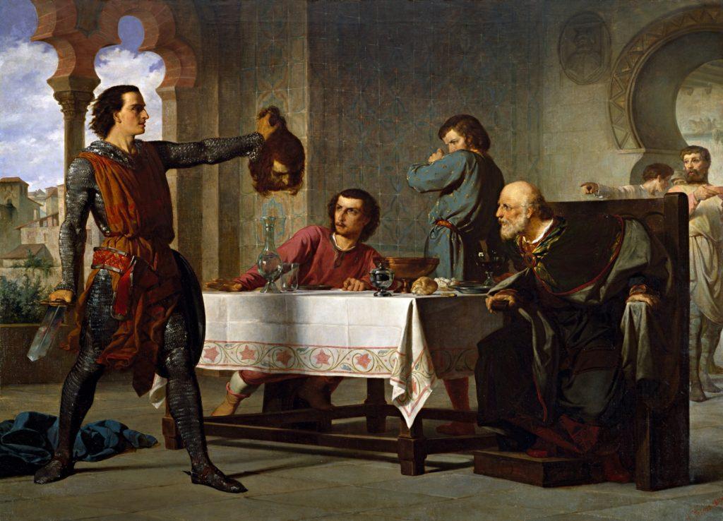 Vicents Cots Primera hazaña del Cid
