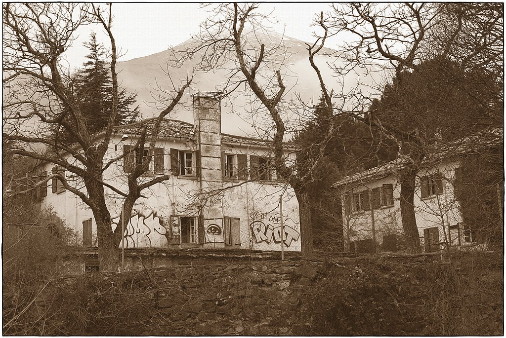El Santuario abandonado de Tuberculosos de Agramonte