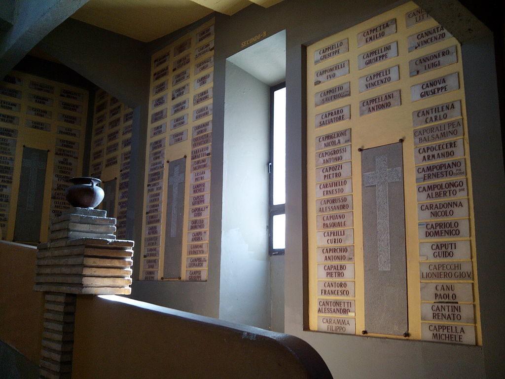 Lápidas de la Torre de los Italianos