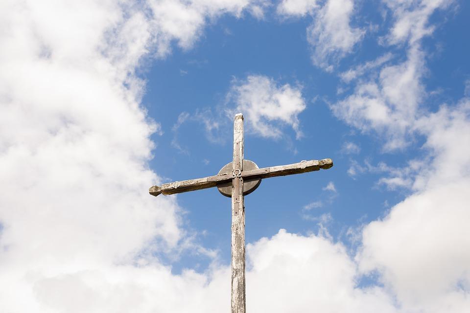 Cruz del viejo cementerio de Alfamén