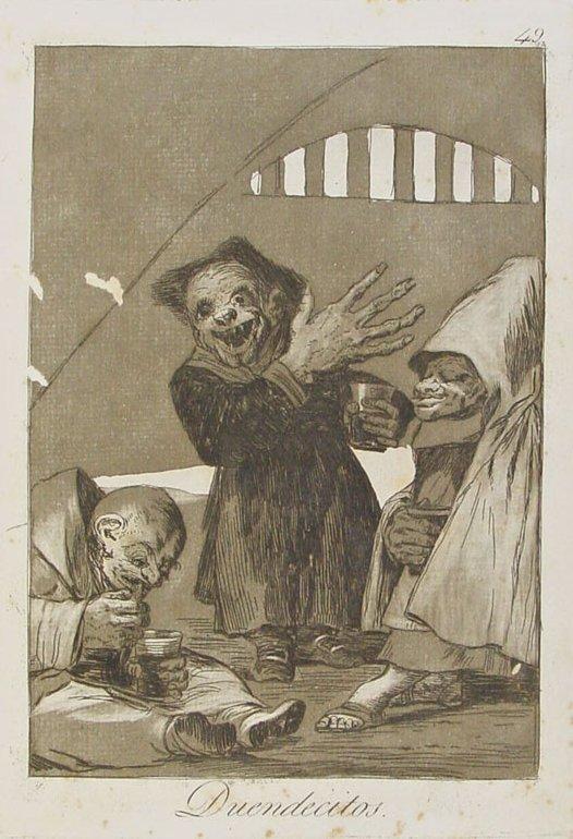 Duendecitos de Goya